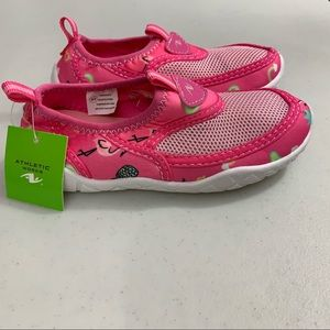 Girls Toddler Aqua Water Shoes Size 9/10 NEW